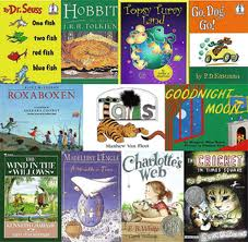 Build a great home library, or create a reading list of wonderful books to find at the library!